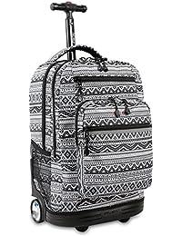 Sundance Laptop Rolling Backpack, Tribal