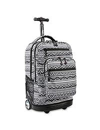 J World New York Sundance Laptop Rolling Backpack Wheel, Tribal