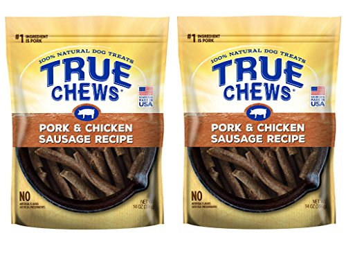 Pork Chicken - True Chews Pork & Chicken Sausage Recipe 14oz (2 pack)