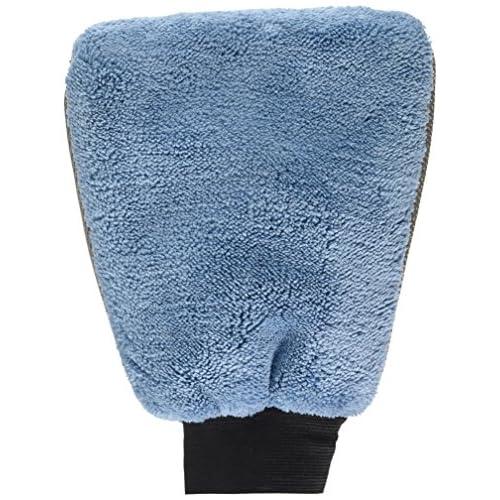 Protecton 1750204 Gant de Lavage Auto Microfibre Bi-Couleur, Bleu 50%OFF