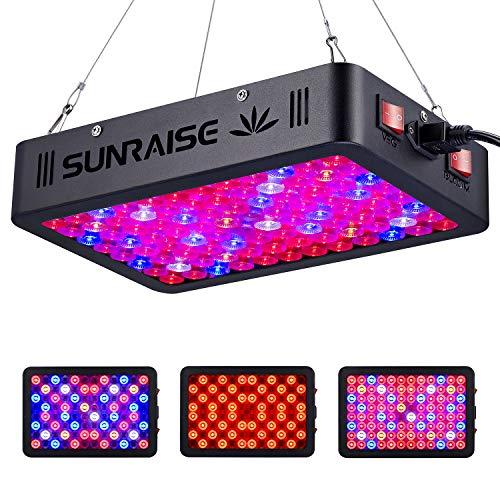 1000W LED Grow Light Full Spectrum for Indoor Plants Veg and Flower SUNRAISE LED Grow Lamp with Daisy Chain Triple-Chips…