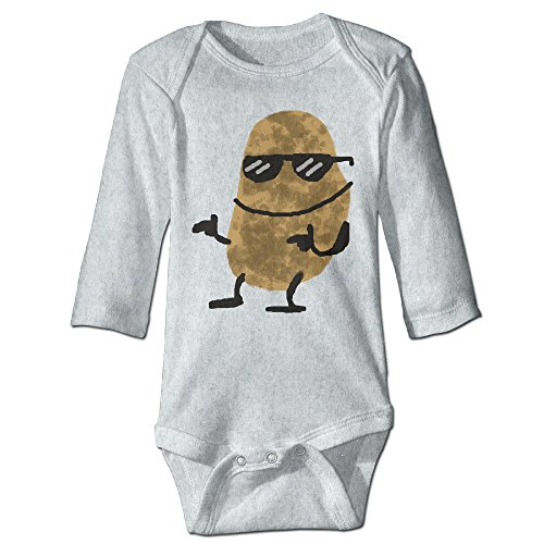 Cool Sunglass Potato Infant Bodysuit Romper Jumpsuit Outfits 24 (Forrest Gump Outfit)