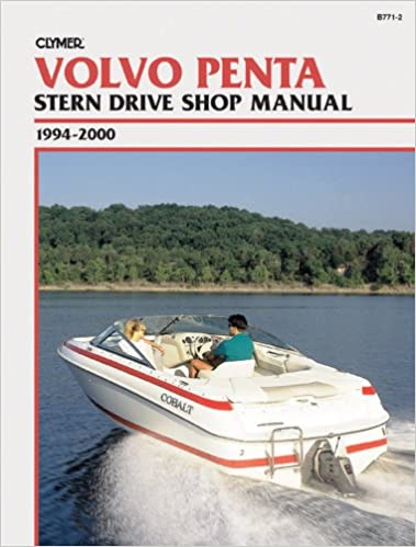 clymer volvo penta stern drive shop manual 1994 2000 clymer