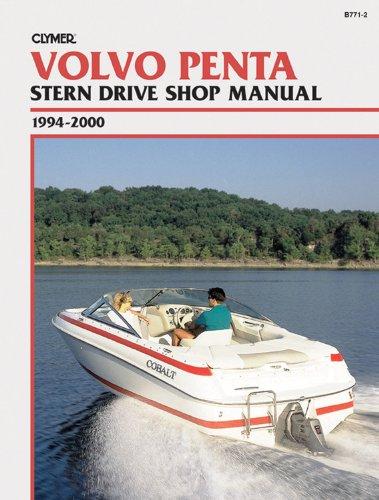 Volvo Penta Manuals - Clymer Volvo Penta Stern Drive Shop Manual, 1994-2000
