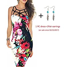 Misaky Lady Dress, Bandage Bodycon Evening Party Cocktail Short Mini Dress