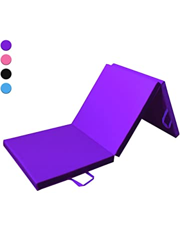 Prime Selection Products Colchoneta de Espuma 180cm, Triple Plegable, para Gimnasia, Fitness,. #2