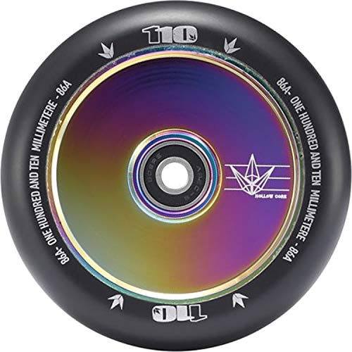 Envy Scooters Hollow Core Wheels 110mm (Pair) (Oil Slick)