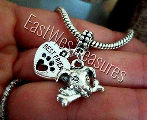 Russell Necklace Jack (Jack Russel Russell Terrier dog charms For bracelet and necklace-boys girls teens women)