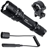 LiteXpress X-Tactical 104 360 Lumens incl. pressure switch- Gun Mount
