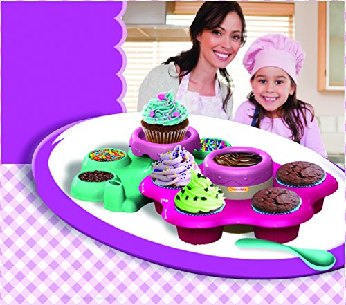 AMAV Cupcake Maker Toy Activity Set Using Microwave Baking - DIY Make Your Own Delicious Treat - Edible Sweet Art