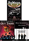 Rick Wakeman (3 pack) Journey to the Center of the Earth/Out There/Live