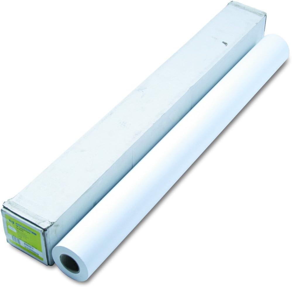HP Q1406A - Papel Recubierto, 106.7 cm x 45.7m: Amazon.es: Electrónica