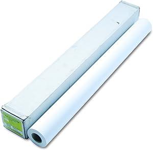 "HP Q1406B Designjet Inkjet Large Format Paper, 4.9 mil, 42"" x 150 ft, White"