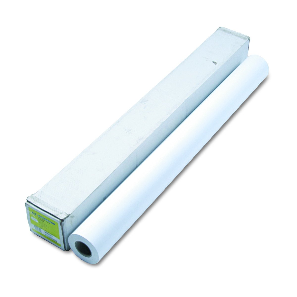 HP Q1406B Designjet Inkjet Large Format Paper, 4.9 mil, 42'' x 150 ft, White