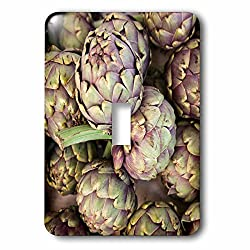 Danita Delimont - France - Artichokes at the Bergerac open air market in the spring. - Light Switch Covers - single toggle switch (lsp_227316_1)