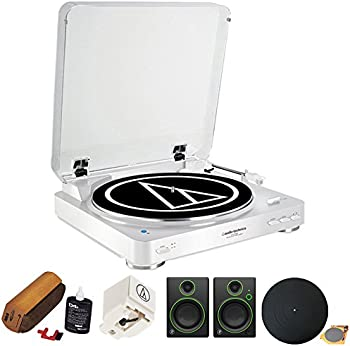 Audio-Technica Consumer AT-LP60USB Fully Automatic Belt-Drive Turntable