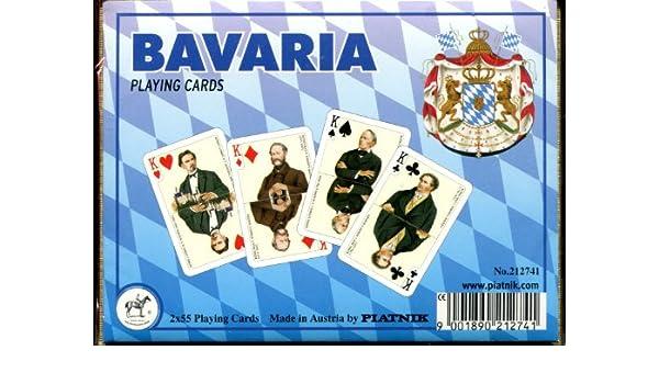 Baviera No estándar juego de cartas doble cubierta: Amazon ...