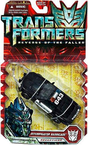 Hasbro Transformers Revenge of The Fallen Interrogator Barricade Deluxe Action Figure