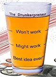 """Funny Brainstorming Glass - """"the"""