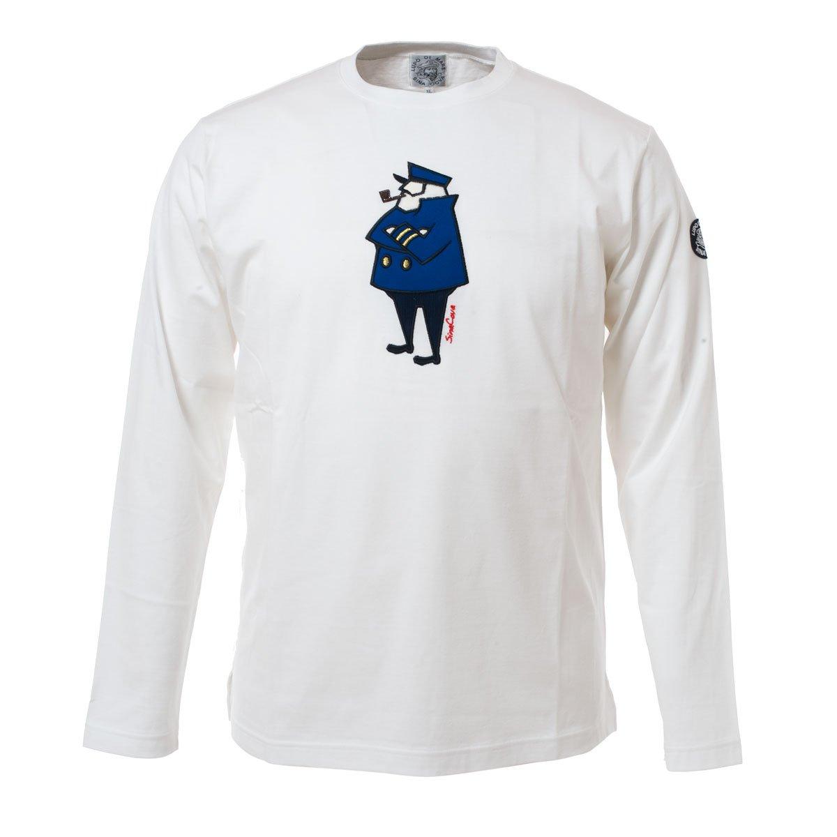 (シナコバ) SINA COVA 長袖Tシャツ B075DQY5K5 L ホワイト ホワイト L