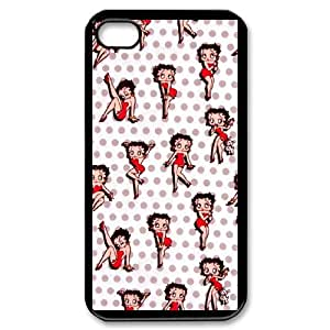 iPhone 4,4S Phone Case Cover Betty Boop ( by one free one ) B63476