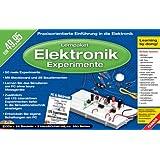Lernpaket Elektronik-Experimente mit dem PC, 2 CD-ROMs u. 28 Bauelemente Praxisorientierte Einführung in die Elektronik. Für Windows 98/ME/2000/XP