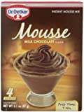 Oetker Milk Chocolate Mousse, 3.1 Ounce