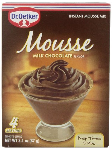 Oetker Milk Chocolate Mousse 31 Ounce