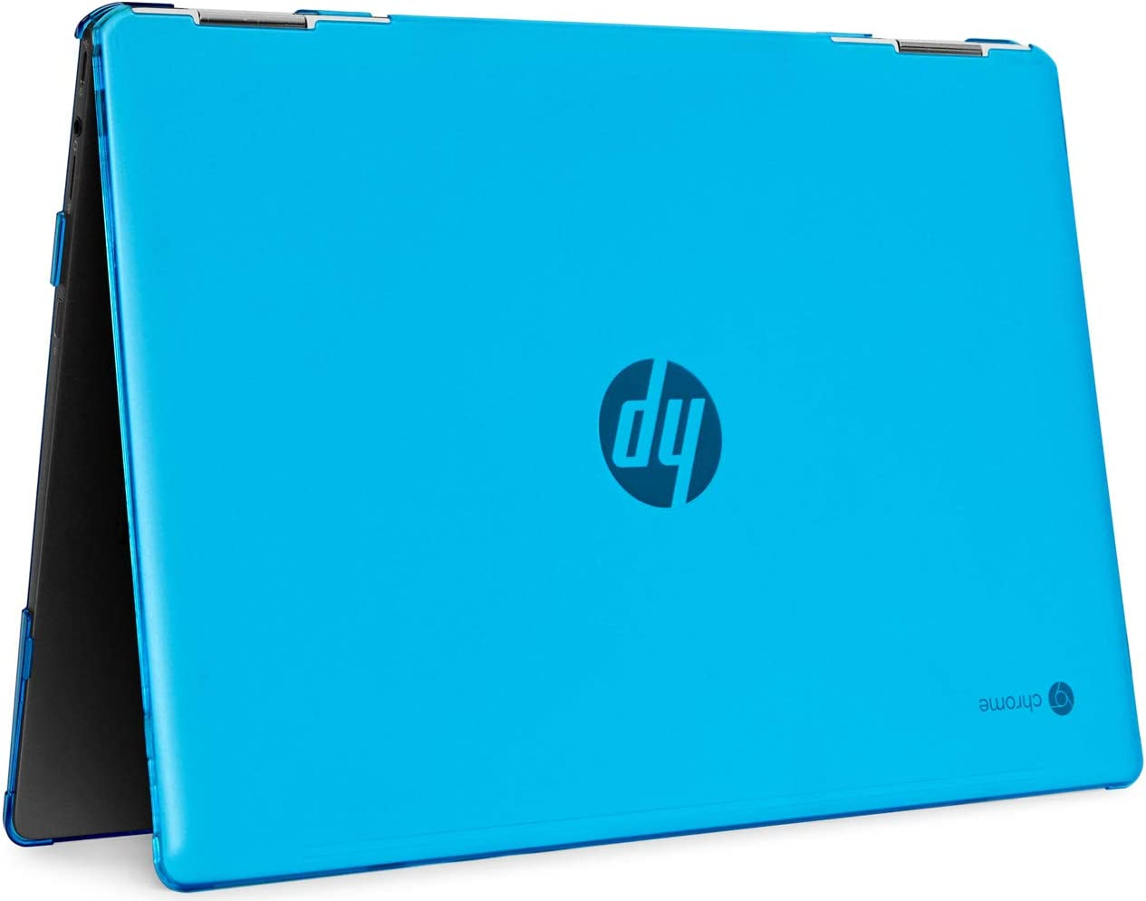 "mCover Hard Shell Case for 14"" HP Chromebook X360 14-DA0000 Series laptops (NOT Compatible with Other HP Chromebook & Windows laptops) (Aqua)"