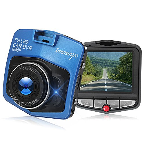 1080P 2.4inch Car DVR Camera Video Recorder (Blue) - 3