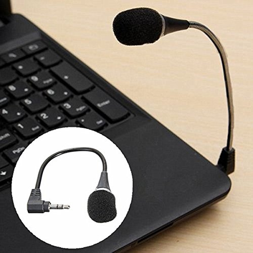 Best Laptops For Skypes - Frontier Mini 3.5mm Flexible Microphone For