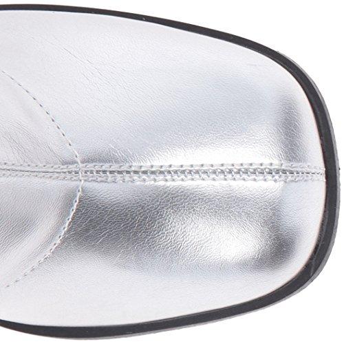 Funtasma Women's Gogo150/Spu Boot Silver Stripe Polyurethane rYi23ZASw