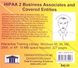 HIPAA 2 Business Associates and Covered Entities, Daniel Farb, 1932634290