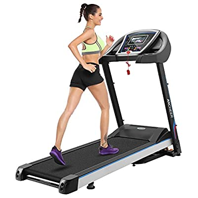968 Folding Motorized Running Treadmill