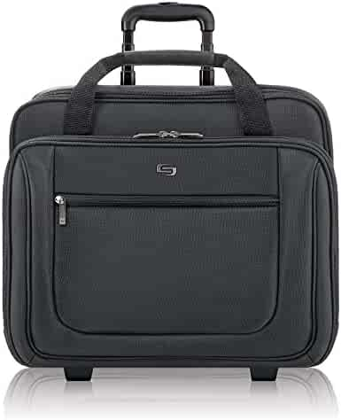 Solo Bryant 17.3 Inch Rolling Laptop Case, Black