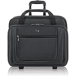 SOLO Classic 17.3-Inch Laptop Rolling Case - Black (PT136-4)