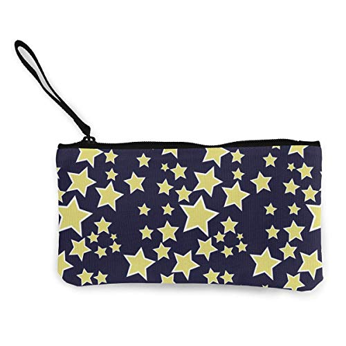 Women Clip Men And Purse Stars Wallets Pattern For Sd4r5y3hg Coin 3d Print Art Unisex Canvas 6Ba1Sqn