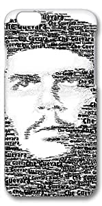 iPhone 6 Plus Case, Ultra Slim Pattern Bumper for iPhone 6 Plus Cover (5.5) Che Guevara Typography Portrait Creativity 3D iPhone 6 Plus cases for Girls iphone 6 Plus case hard PC Skin