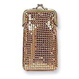Black, Silver-tone or Gold-tone Sequin Cigarette Case Home Garden Living Gifts