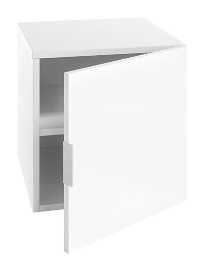 LOWE Muebles Módulo armario derecha, 45 x 47 x 60 cm, Blanco: Amazon ...