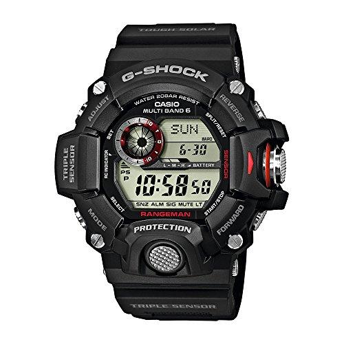 CASIO Reloj Hombre de Digital con Correa en Resina GW-9400-1ER 1