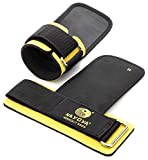 Nayoya Weight Lifting Straps - With Built in Adjustable Wrist Support Wrap and Palm Protecting Grip Pads