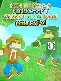 little build - Little Ropo - How to Make a Minecraft Secret Slime Base!