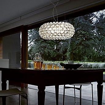 Caboche Foscarini lampada a sospensione trasparente - LED, Grande ...