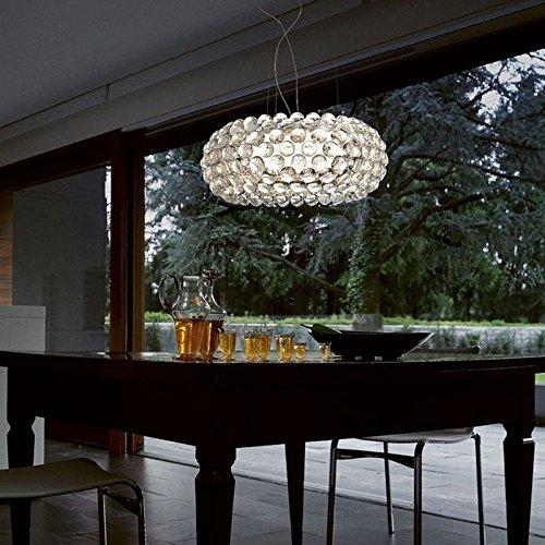 Caboche Foscarini lampada a sospensione trasparente , LED, Grande, 2 metri