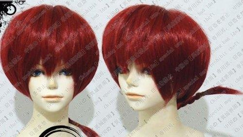 [Web essence, cosplay Ranma 1/2 * Ranma style high quality wig cosplay wig + wig + original bracelet (Wig Web)