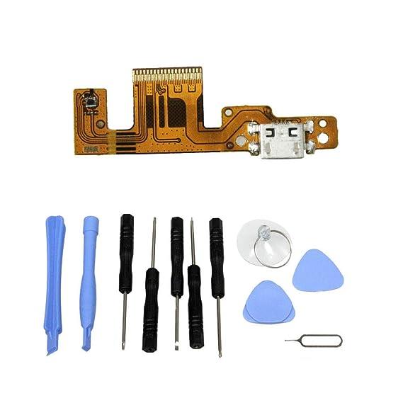 Amazon.com: USB Charging Port Flex Cable for Lenovo Yoga Tab ...