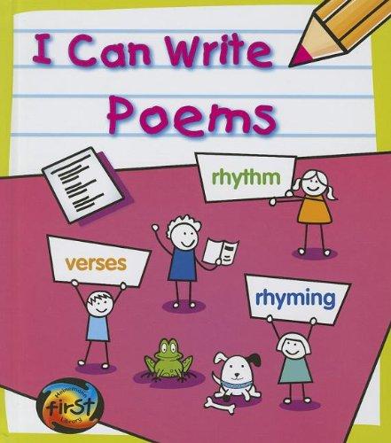 I Can Write Poems PDF