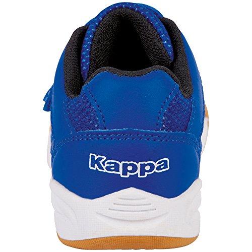 Kappa Kickoff Kids, Zapatillas Unisex Niños Blue/Black