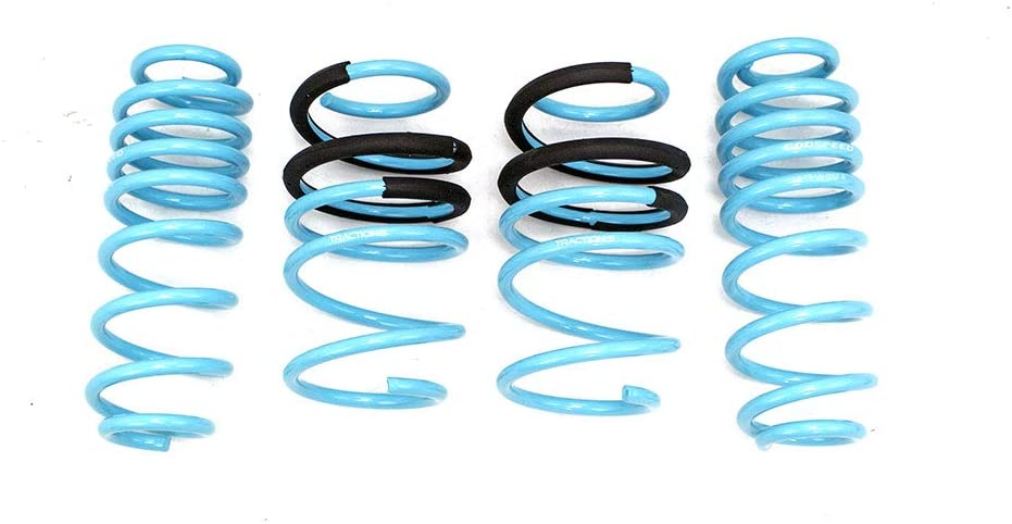 Godspeed LS-TS-VN-0007 Traction-S Performance Lowering Springs Reduce Body Roll Improved Handling compatible with Volkswagen Jetta GLI 2019-20 Set of 4